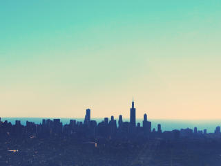 Chicago City Skyline wallpaper