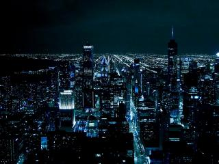 HD Wallpaper | Background Image Chicago Night