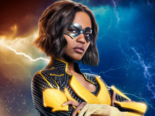China Anne McClain as Lightning wallpaper
