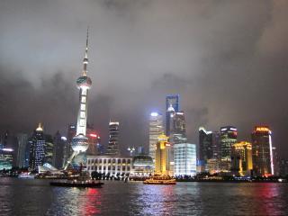china, shanghai, night wallpaper