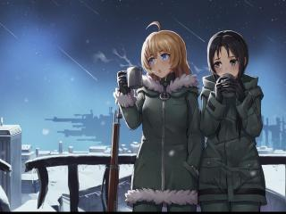 Chito and Yuuri wallpaper