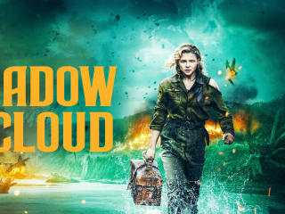 Chloe Moretz in Shadow in the Cloud wallpaper