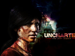 Chloe Uncharted The Lost Legacy wallpaper