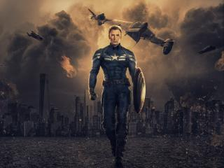HD Wallpaper | Background Image Chris Evans as Captain America