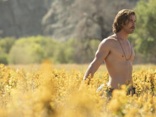 Chris Hemsworth in Bad Times at the El Royale 2018 Movie wallpaper