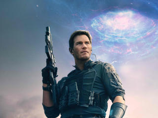 Chris Pratt in The Tomorrow War wallpaper