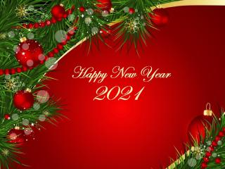 Christmas & New Year 2021 wallpaper
