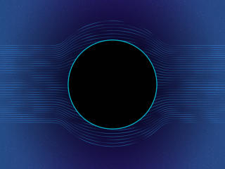 Circle Blue Hole wallpaper