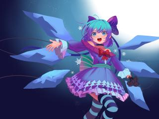 Cirno Anime Touhou wallpaper