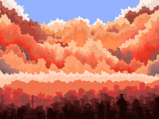 City Art 5K wallpaper