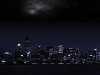 City at Night 4K wallpaper