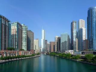 city, sky, buildings wallpaper