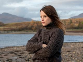 Claire Foy My Son Movie 2021 wallpaper