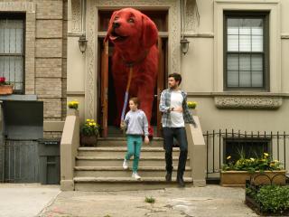 Clifford The Big Red Dog HD wallpaper