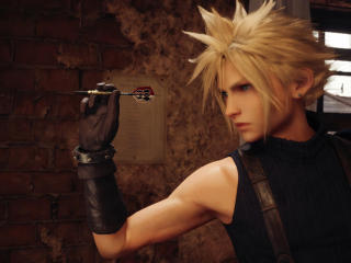 Cloud Strife Final Fantasy 7 Remake wallpaper