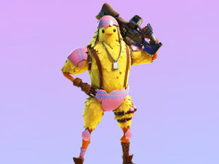 Cluck Outfit Skin Fortnite wallpaper