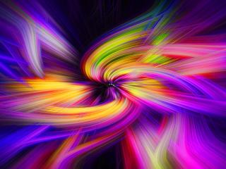 Color Swirl Art wallpaper