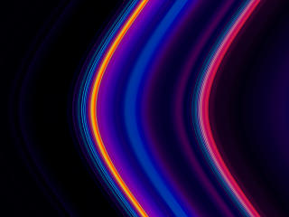 Colorful 8K Neon Lines wallpaper