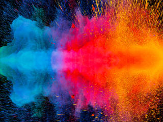 Colorful Dispersion 4K wallpaper