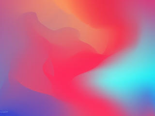 Colorful Gradient Waves 8K wallpaper