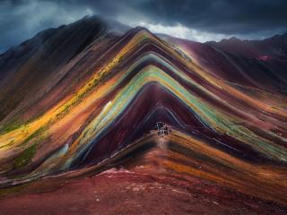 Colorful Mountain wallpaper