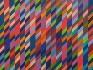 Colorful Parallelogram Pattern wallpaper