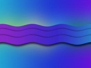 Colorful Wave wallpaper