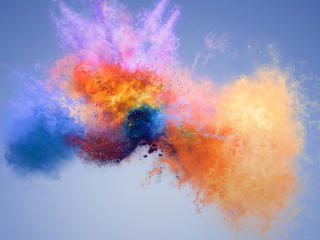 Colors Huawei Honor 7X Stock wallpaper