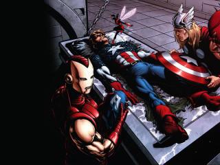 HD Wallpaper | Background Image comics, marvel, thor