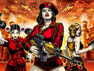 Command & Conquer Red Alert 3 wallpaper