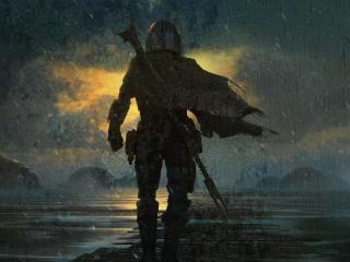 Concept ArtThe Mandalorian wallpaper