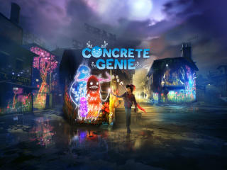 Concrete Genie wallpaper