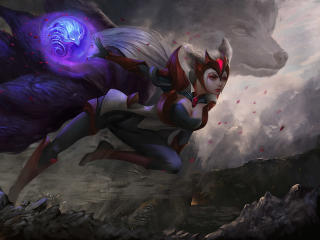 Cool Ahri League Of Legends wallpaper