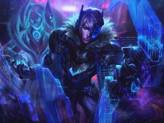 Cool Aphelios League Of Legends wallpaper
