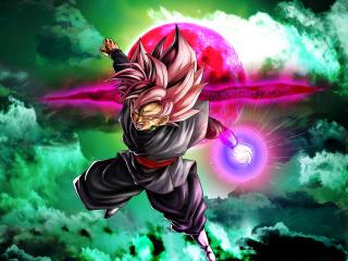 Cool Black Goku HD Dragon Ball Super wallpaper