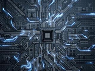 Cool Circuit HD Motherboard wallpaper