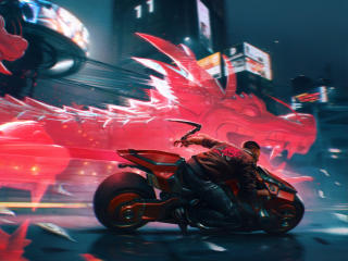 Cool Cyberpunk 2077 4K 2020 wallpaper