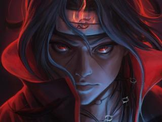 Cool Itachi Uchiha Naruto Art wallpaper