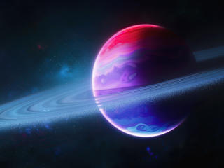 Cool Planetary Ring wallpaper