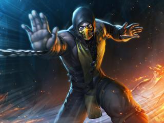 Cool Scorpion New Mortal Kombat wallpaper