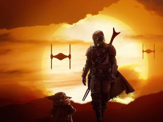 Cool The Mandalorian 2 wallpaper