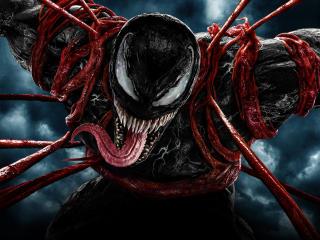 Cool Venom 4K HD Poster wallpaper