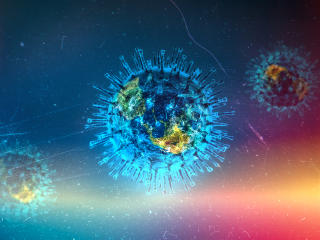 Covid 19 Virus wallpaper