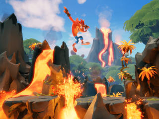 Crash Bandicoot 4 Game It's About Time wallpaper