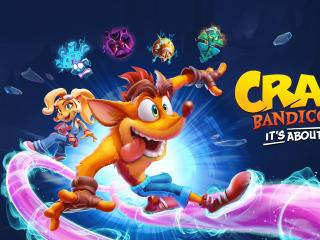Crash Bandicoot 4 wallpaper