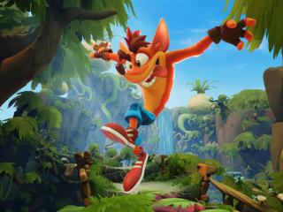 Crash Bandicoot 4K wallpaper