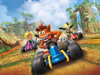 Crash Team Racing Nitro Fueled 2019 wallpaper