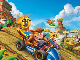 Crash Team Racing Nitro Fueled wallpaper
