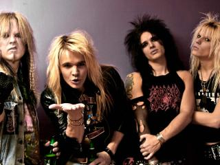 crashdiet, band, haircuts wallpaper