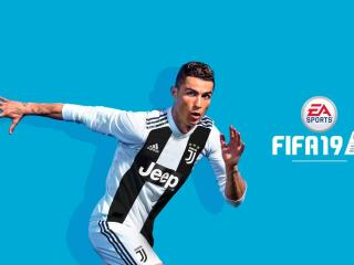 Cristiano Ronaldo FIFA 19 Game wallpaper